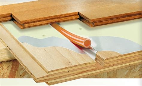 floor heating hardwood best types of radiant floor heating