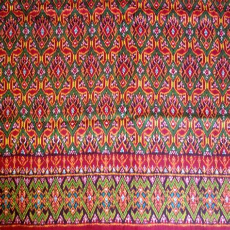 batik design of cambodia beautiful hand woven silk thai cambodian ikat textile