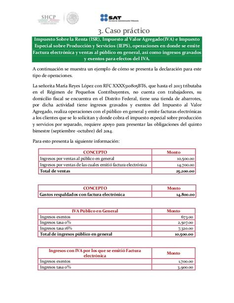errores facturas declaracin regimen incorporacin fiscal guia regimen de incorporacion fiscal 2015