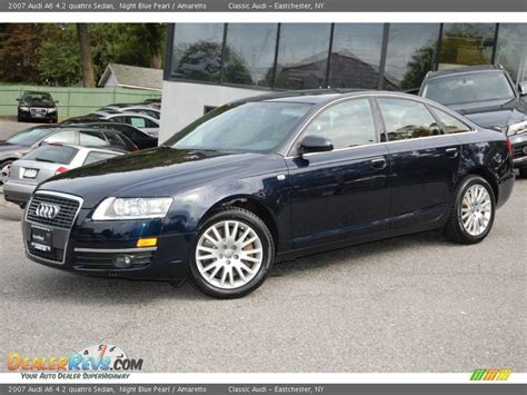 Audi A6 4 2 by 2007 Audi A6 4 2 Quattro Sedan Blue Pearl Amaretto