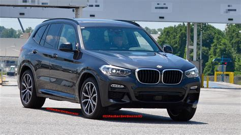 bmw x3 m sport 2018 bmw x3 spied with m sport pack in real world