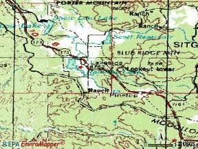 pinetop arizona map pinetop az map