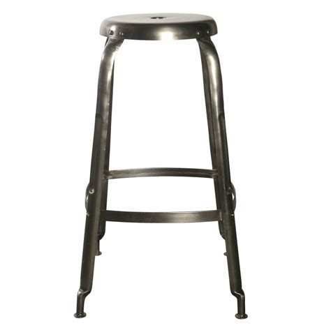 Stool Define by Housedoctor Define Bar Stools Made Of Metal Gray