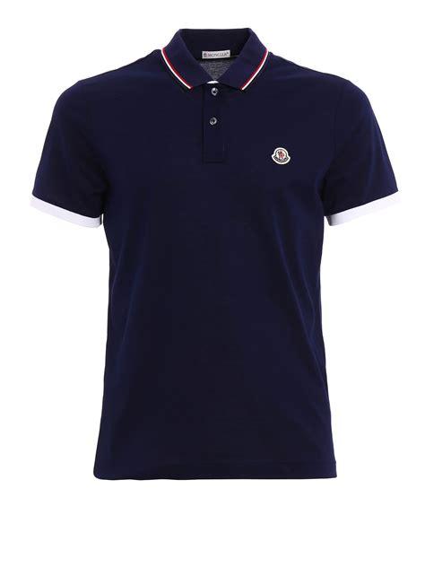 Polo Shirt Polos Original Cotton cotton pique polo shirt by moncler polo shirts ikrix