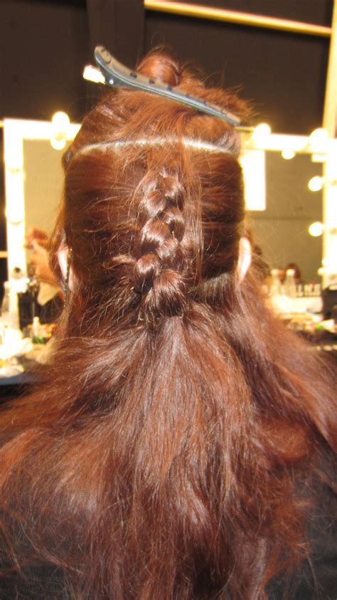 horseshoe hair sectioning quot once that texture is in the hair we take a halo
