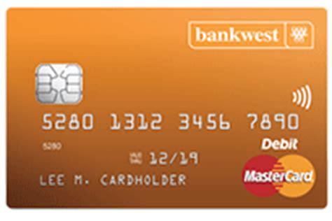 bw bank mastercard debit mastercard 174 everyday transaction card bankwest