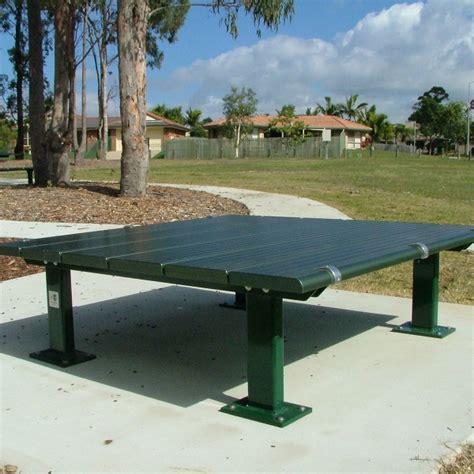 platform bench platform aluminium bench terrain group