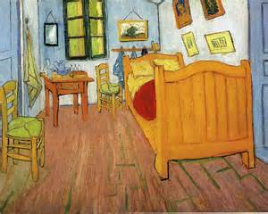 bedroom at arles vincents bedroom in arles vincent van gogh wallpaper image