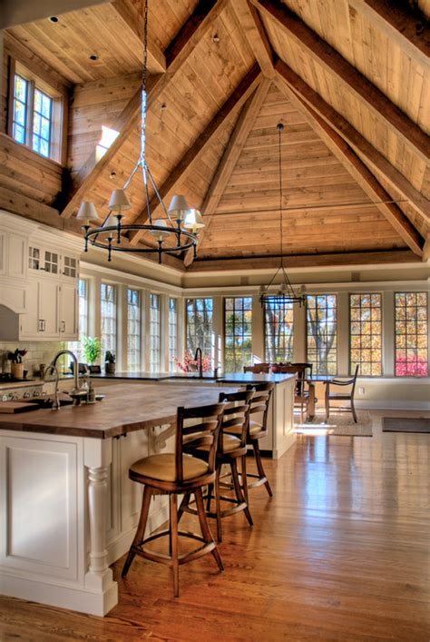 General Builders And Home Decorators 13 ways to add ceiling beams to any room town amp country