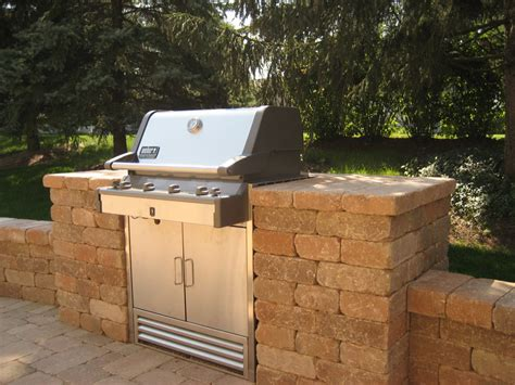 Chicago Brick Grill Enclosures Backyard Pinterest Backyard Brick Grill