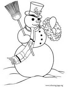 cute christmas snowman coloring pages images amp pictures becuo