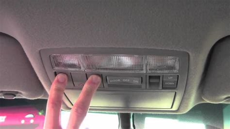 Setting Up Garage Door Opener In Car 2011 Toyota Camry Homelink How To By Toyota City Minneapolis Mn