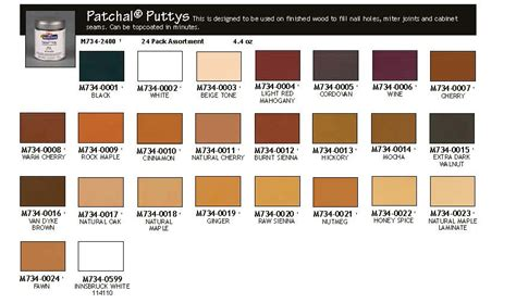 putty color mohawk patchal putty