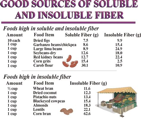 Sources Of Dietary Fiber And Weight Loss by Soluble And Insoluble Fiber Soluble And Insoluble Fiber