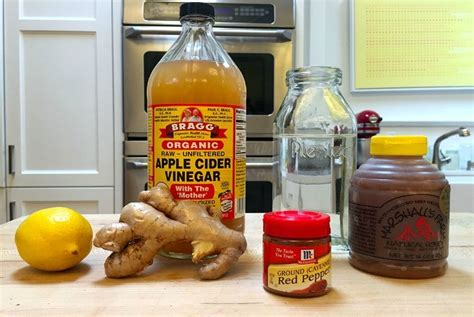 Apple Cider Vinegar Lemon Cayenne Pepper Detox Reviews by Top 6 Diy Decongestant Recipes