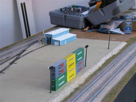 n scale yard lights scale trains