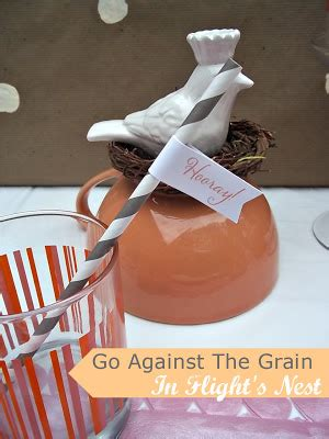 5 Ways To Go Against The Grain by In Flight Ideas October 2012