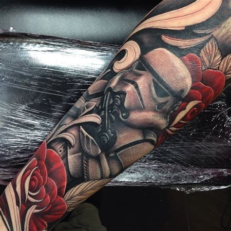 star wars stormtrooper sleeve tattoo craig holmes by