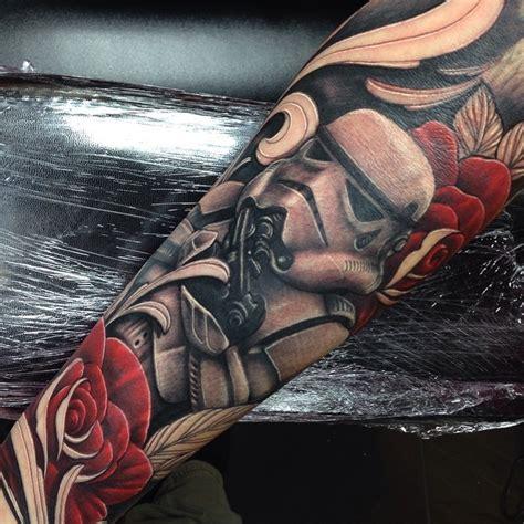 star wars stormtrooper sleeve tattoo craig holmes by