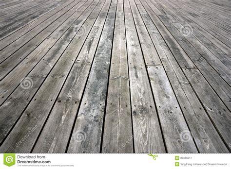 Weathered wooden floor stock image. Image of wooden