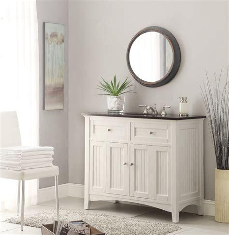 bathrooms with white vanities adelina 48 75 inch antique white sink bathroom vanity