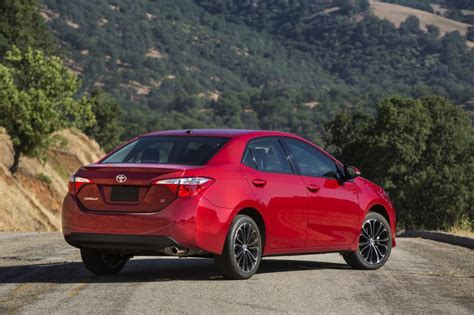 Toyota Corolla 2014 Gas Mileage New 2014 Toyota Corolla Unveiled Eco Model Aims At 40 Mpg