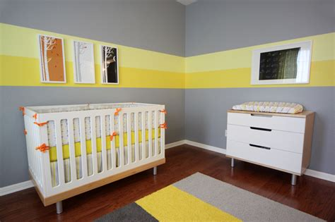 eric s gray and yellow modern nursery project nursery