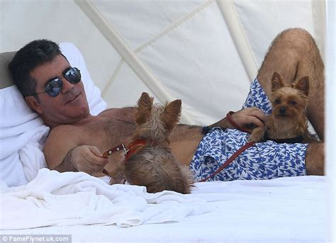 simon cowell dogs simon cowell hires trainer so puppies don t get jealous eric daily mail