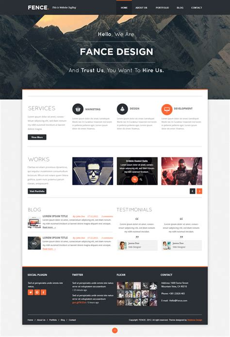 web design layout types clean modern layout full width header clean type for