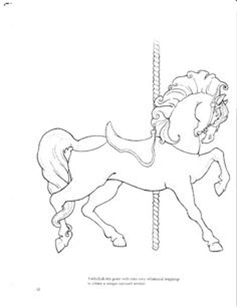 templates and designs horses and carousels on
