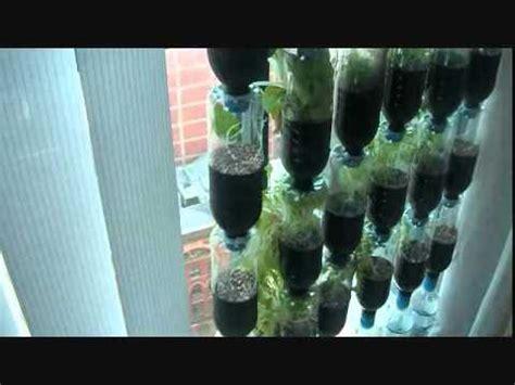 Bottle Garden Part2 Youtube Soda Bottle Garden Wall