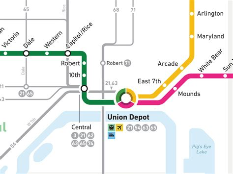 cities light rail map mappingtwincities it s here future transit maps