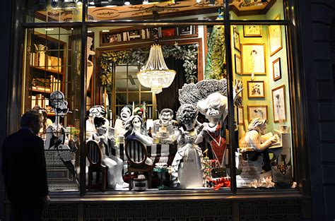christmas window stores henri bendel department store new york city in the wit of an eye