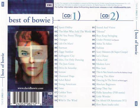 david bowie best of bowie caratulas de musica estrenos de musica cd estrenos de