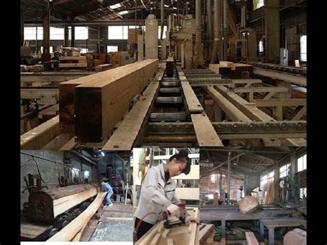 wood processing plant  japan woodworking