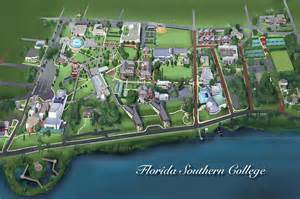map of florida southern college florida southern college digital by rhett and sherry erb