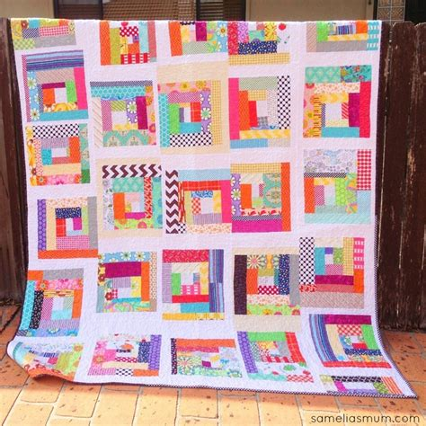 Quilting Scraps by Fabric Scraps Quilt Allfreesewing