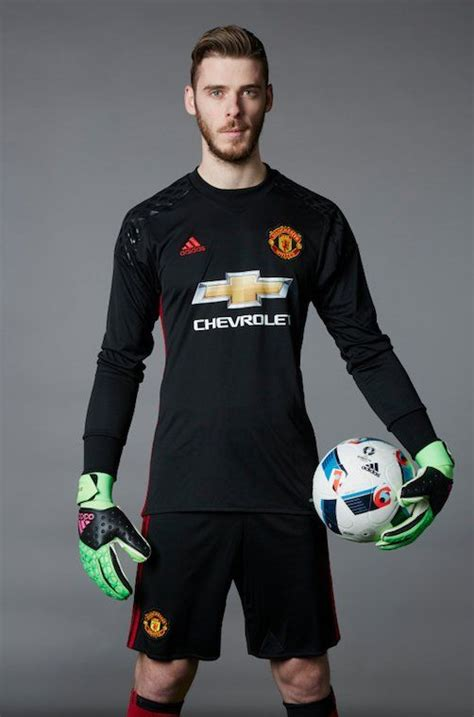 Jersey Mu Gk Hijau Stabilo david de gea manchester united mufc david de gea united and goalkeeper