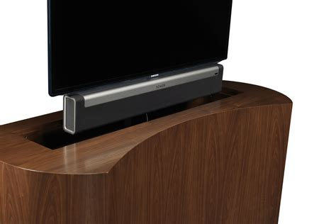 How To Make Your Room Look Bigger custom tv stand custom made tv stands coast