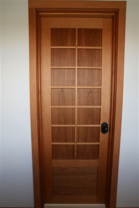 Timber Frame Interior Doors   New Energy Works