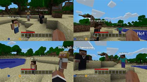 Lego Minecarft Xbox One Edition Steve M08 minecraft en 5 andere splitscreen toppers power unlimited