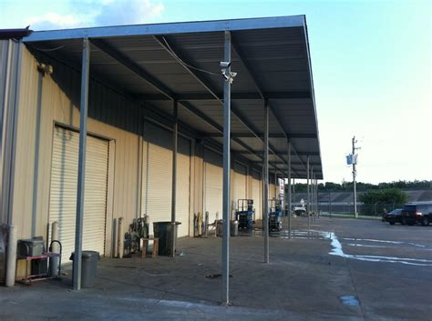 commercial metal awning first collision body shop commercial awning baytown 187 a 1