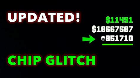 unlimited chipscasino glitchgta  youtube