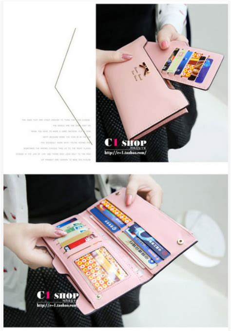 Dompet Wanita Ribbon Korean Wallet Ribbon Korean Wallet dompet wanita import korea murah quot ribbon wallet quot