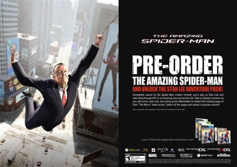 spiderman swing game crunchyroll swing around as stan lee in quot the amazing