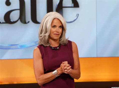 katie couric latest pics katie couric debuts gray hair on the katie show photo
