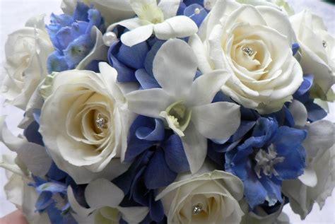 Blue Flowers For Wedding by Blue Wedding Flowers Laurel Weddings