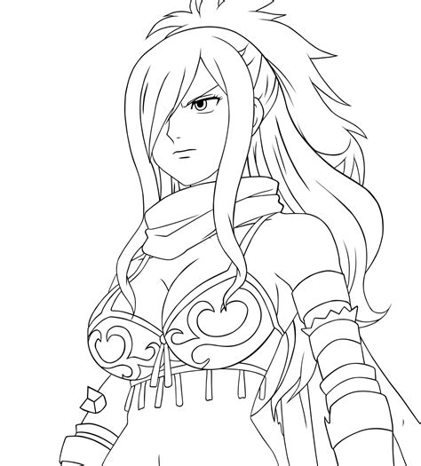 erza coloring pages freecoloring4u com