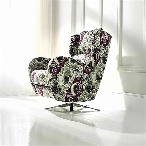 Leather Armchair With Footstool Vale Furnishers Morgan Swivel Chair Fabric