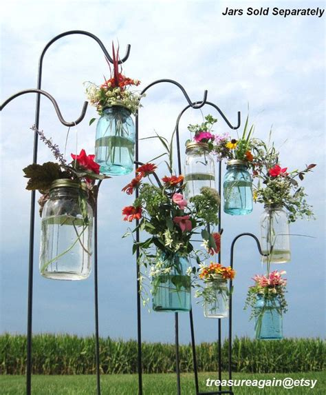 hanging flower vases wedding wedding aisle jar diy hanging flower vases or